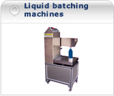 liquid batching machines